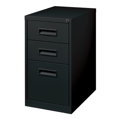 CommClad 3 Drawer Mobile Pedestal File