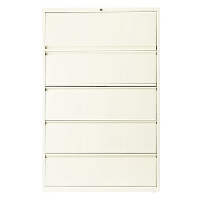 CommClad 5-Drawer Lateral File with Bi..