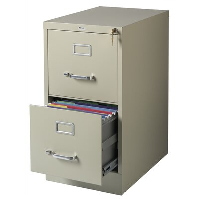 CommClad 2 Drawer Letter-Size  File Cabinet