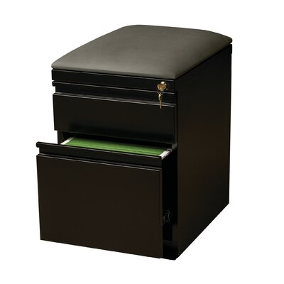 CommClad 2-Drawer Mobile Pedestal Seat