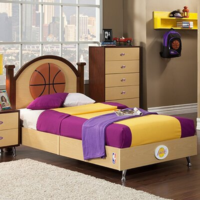 Najarian Furniture NBA Twin Panel Bed