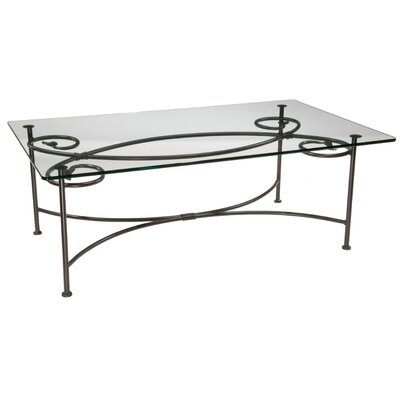 Stone County Ironworks Leaf Coffee Table
