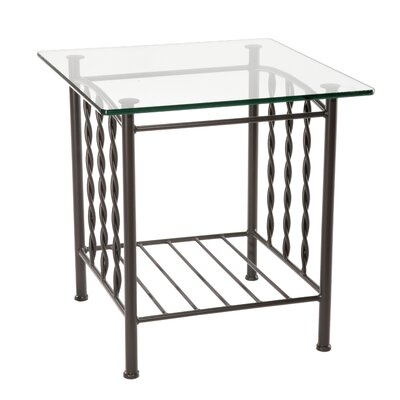 Stone County Ironworks Prescott End Table