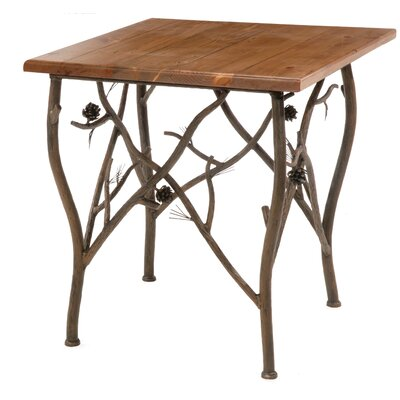 Stone County Ironworks Pine End Table