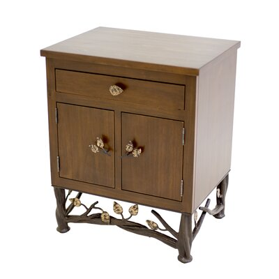 Stone County Ironworks Enchanted Forest End Table