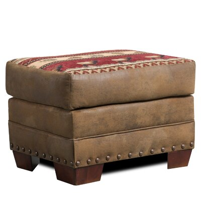 American Furniture Classics Lodge Sierra Ottoman