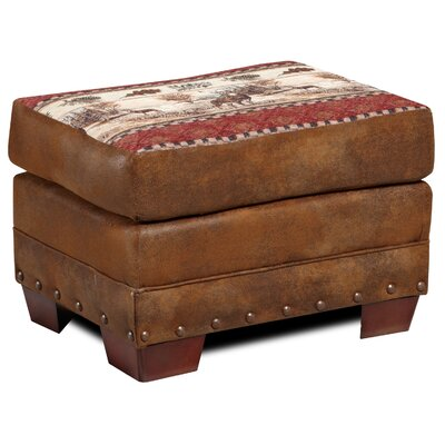 American Furniture Classics Lodge Deer Valley Ottoman