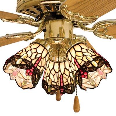 Meyda Tiffany 4 Quot Tiffany Glass Bell Ceiling Fan Fitter