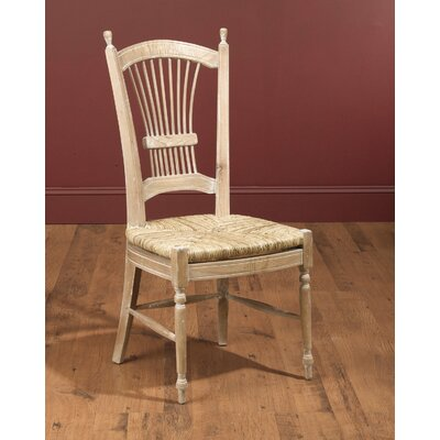 AA Importing Wheat Back Side Chair