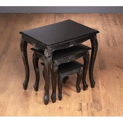AA Importing Lyda 3 Piece Nesting Table