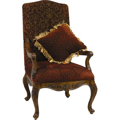 AA Importing Arm Chair with Matching Pill..