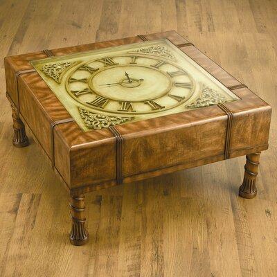 AA Importing Clock Coffee Table