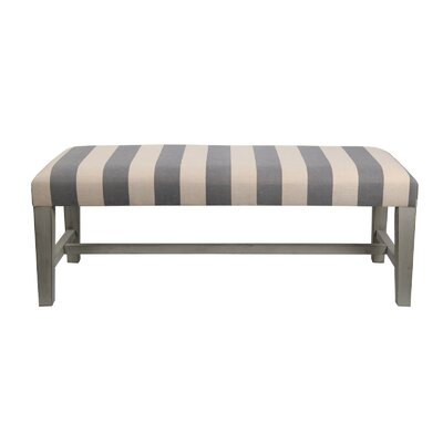 Privilege Striped Cocktail Ottoman