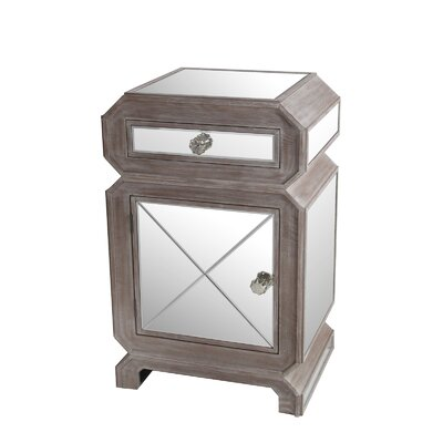 Latitude Run Briana 1 Drawer Nightstand