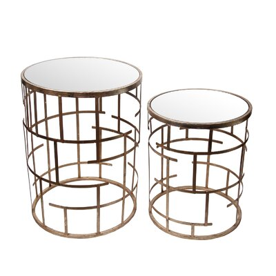 Mercer41 Colfontaine 2 Piece Stand Set