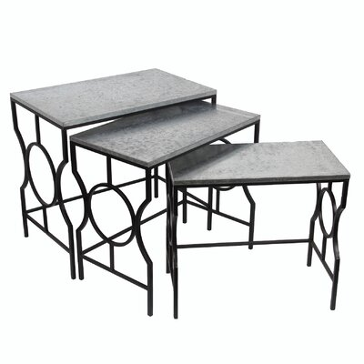 Mercer41 Calloway 3 Piece Nesting Tables