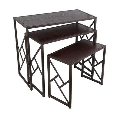Mercury Row Abbott Way 3 Piece Nesting Tables