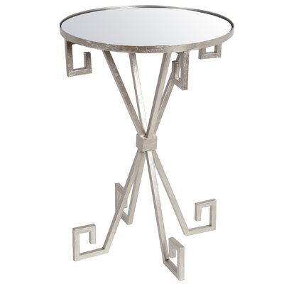 Mercer41 Reed Iron End Table