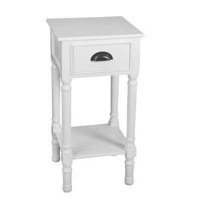 Alcott Hill Orangetown 1 Drawer Accent Table