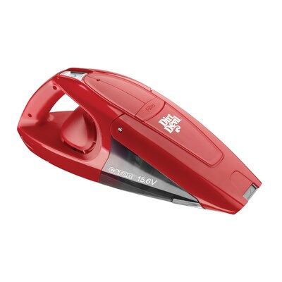 dirt devil gator 15 6v cordless handheld vacuum cleaner wayfair. Black Bedroom Furniture Sets. Home Design Ideas