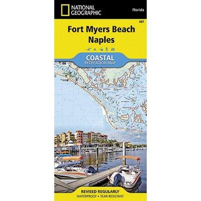 Universal Map Fort Myers Beach Coastal Recreational Map