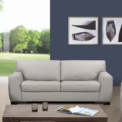 Sofas to Go Dean Leather Sofa