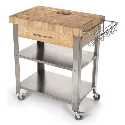 butcher block kitchen islands  carts you'll love  wayfair,