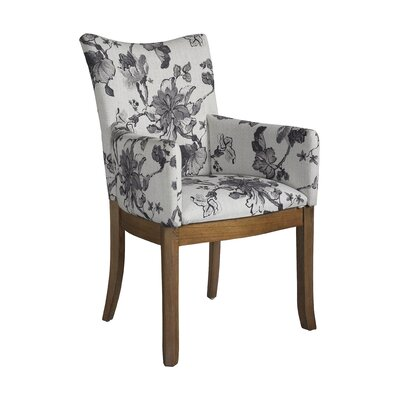 Somerton Dwelling Sophisticate Floral Arm Chair (Set of 2)