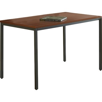 Unique Furniture Parson Writing Desk with Steel Frame