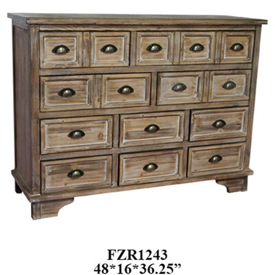 Crestview Collection Henderson 10 Drawer Dresser