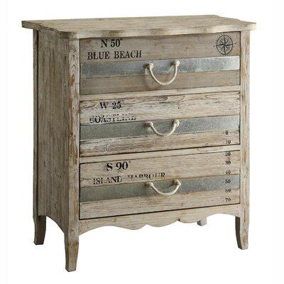 Crestview Collection Grand Isle 3 Drawer Dresser