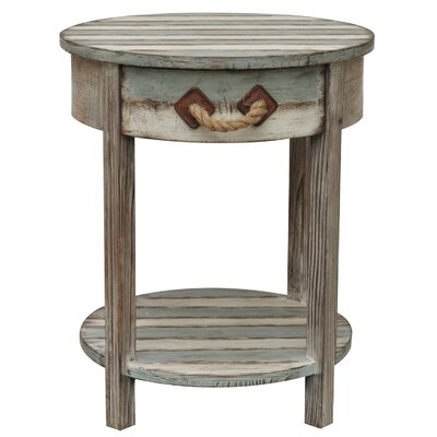 Crestview Collection Nantucket Wood End T..