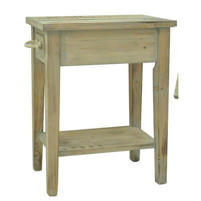 Lark Manor Fontfroide Chairside Table