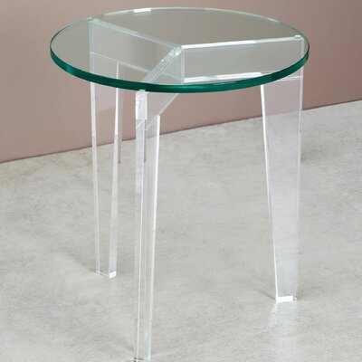 Interlude Leblanc End Table