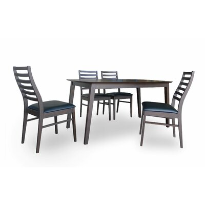 New Spec Inc Cafe 5 Piece Dining Set