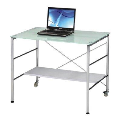 New Spec Inc Computer Desk with Adjustabl..