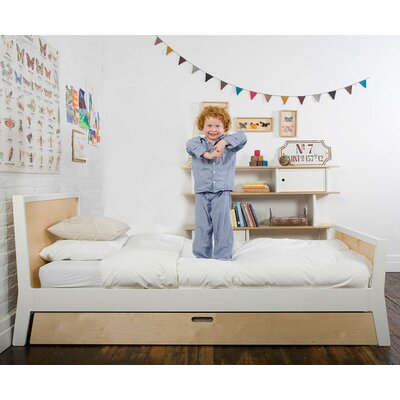 Oeuf Sparrow Twin Panel Bed with Trundle
