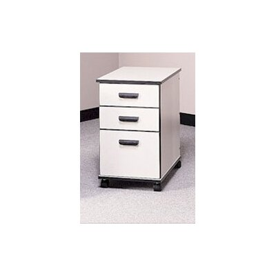 Fleetwood Solutions 3-Drawer Mobile File ..