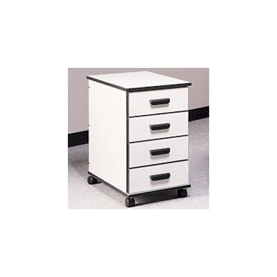 Fleetwood Solutions 4-Drawer Mobile File ..