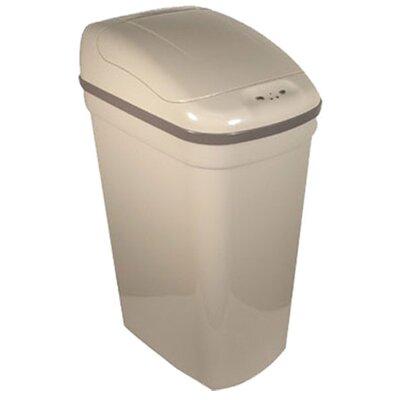 nine stars 7 gallon motion sensor plastic trash can reviews. Black Bedroom Furniture Sets. Home Design Ideas