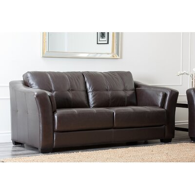 Abbyson Living Sydney Premium Leather Sofa