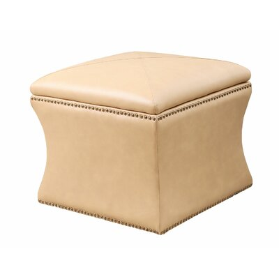 Abbyson Living Samantha Bonded Leather Storage Ottoman