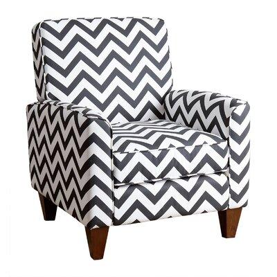 Latitude Run Lauren Chevron Arm Chair