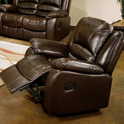 Darby Home Co Jorgensen Leather Chaise Recliner