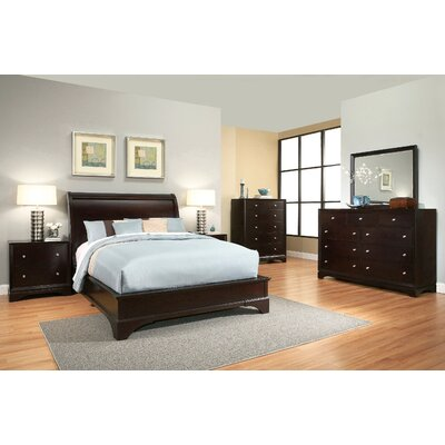 Latitude Run Juliana Sleigh 6 Piece Bedroom Set