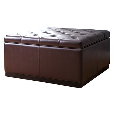 Red Barrel Studio Rose Tufted Square Storage Ottoman