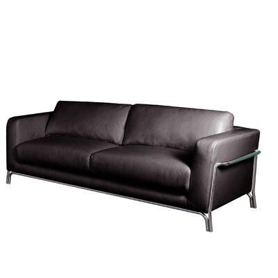 Bellini Modern Living Perch Leather Sofa