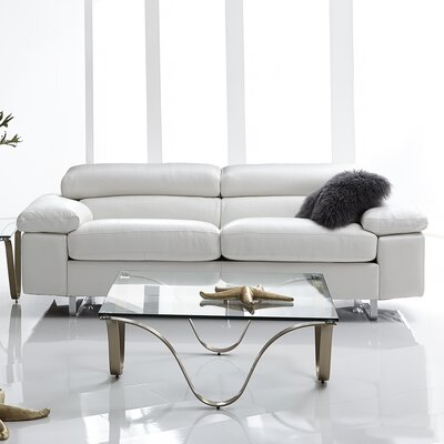 Bellini Modern Living Fiona Leather Sofa