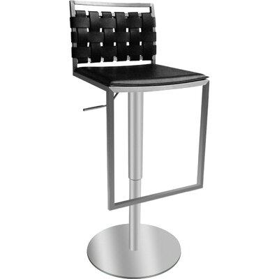 Bellini Modern Living Sigma Adjustable Height Swivel Bar Stool