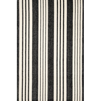 Dash And Albert Rugs Birmingham Black Ivory Indoor Outdoor